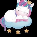 unicornio clipart 4
