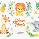 African Friends PNG Clipart transparente