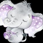 BabyElephant Purple 02