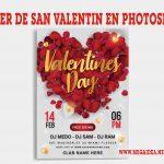 Flyer para San Valentin  Editables en Photoshop GRATIS