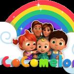 Rainbows logo cocomelon 02
