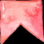 banderin rosa