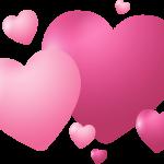 corazones rosados 1