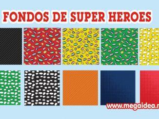 fondo super heroes
