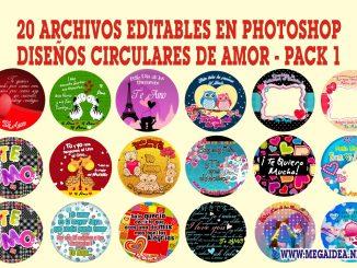 imagenes circulares de amor