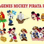 Mickey Pirata Clipart PNG transparente