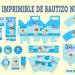 Kit Imprimible de Bautizo para niño en Powerpoint Gratis