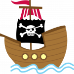 mickey pirata barco 2