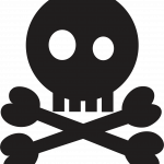 mickey pirata calavera