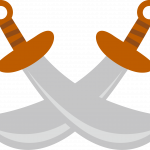 mickey pirata espadas