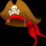 mickey pirata sombrero