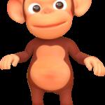 mono de cocomelon