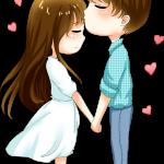 novios pareja
