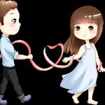 pareja lazo