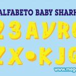 Alfabeto amarillo Baby Shark Clipart PNG