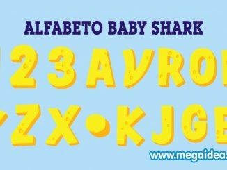 Alfabeto baby shark