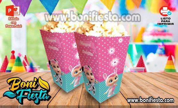 Cajita POPcorn Bebe Llorones