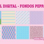 Papel Digital – Fondos Peppa Pig