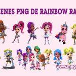 Rainbow Rangers Clipart PNG transparente