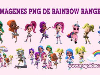 imagenes rainbow rangers 1