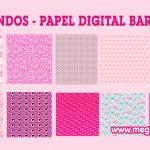 Fondos – Papel Digital de Barbie