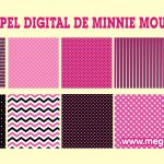 Papel Digital de Minnie Mouse