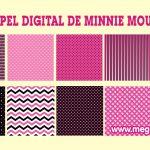 Papel Digital de Minnie Mouse