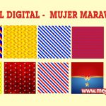 Papel Digital – Fondos Mujer Maravilla