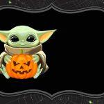 Fondo Invitacion Baby Yoda 02 megaidea