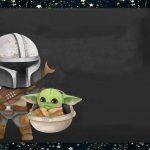 Fondo Invitacion Baby Yoda 03 megaidea