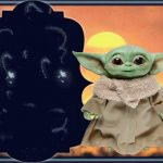 Fondo Invitacion Baby Yoda 11 megaidea