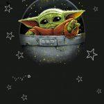 Fondo Invitacion Baby Yoda 14 megaidea