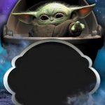 Fondo Invitacion Baby Yoda 15 megaidea