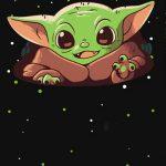 Fondo Invitacion Baby Yoda 16 megaidea