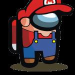 Mario Bros Among Us