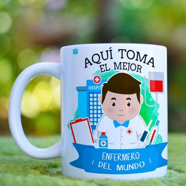 Mockup AQUI TOMA ENFERMERO