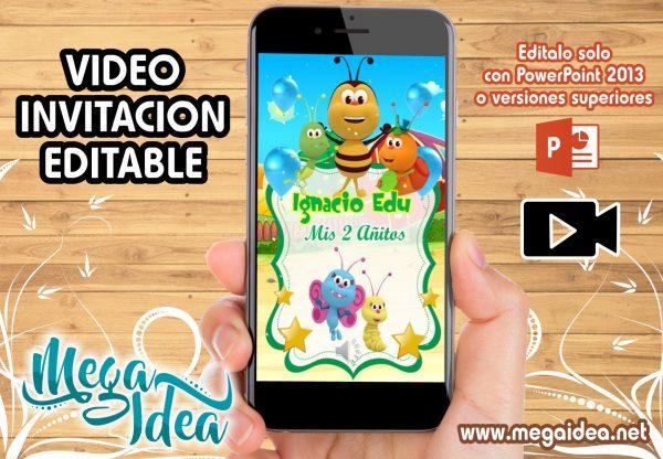 VIDEO Invitacion Bichikids