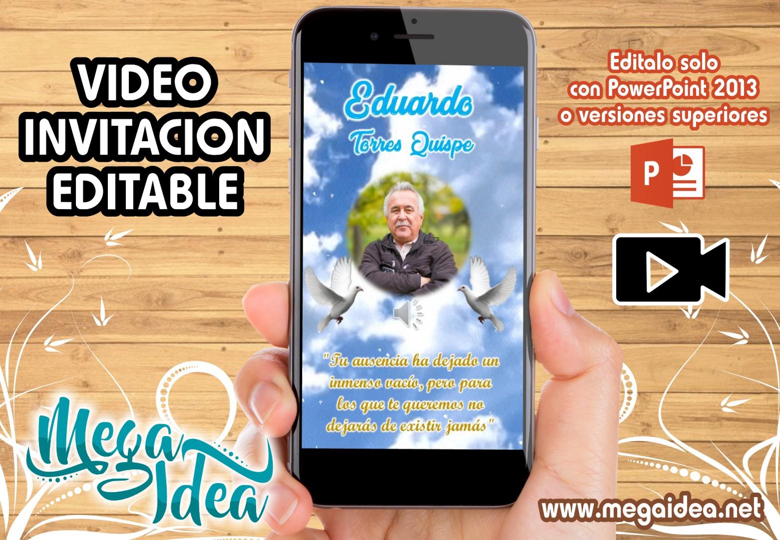 VIDEO Invitacion Misa Varon
