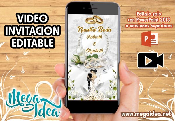 VIDEO Invitacion Nuestro Boda