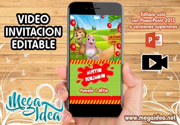 VIDEO Invitacion Perro Chocolo