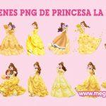 La Princesa Bella Imagenes Png Clipart