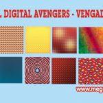 Papel Digital Avengers -Vengadores