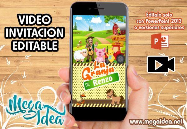 Video Invitacion Granja de Zenon