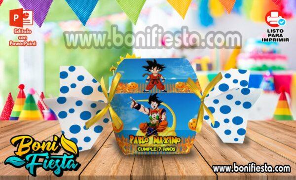 Cajita Caramelo Dragon Ball