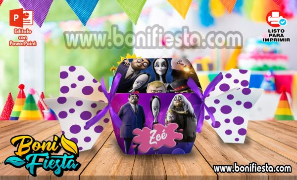 Cajita Caramelo Familia Addams 600x365 1