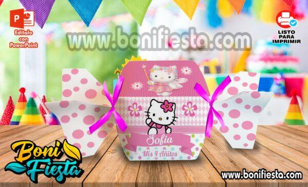 Cajita Caramelo Hello Kitty