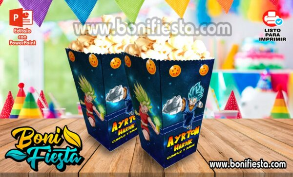 Cajita POPcorn Dragon Ball Z copia