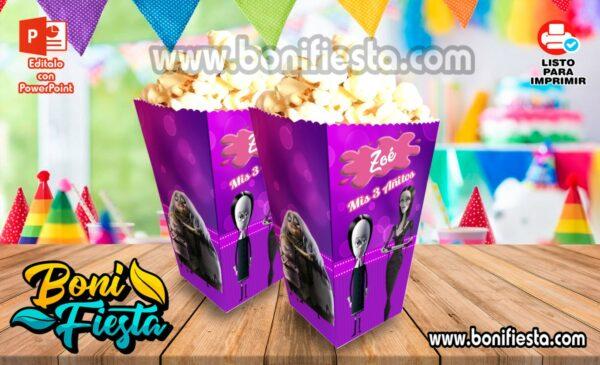 Cajita POPcorn Familia Addams