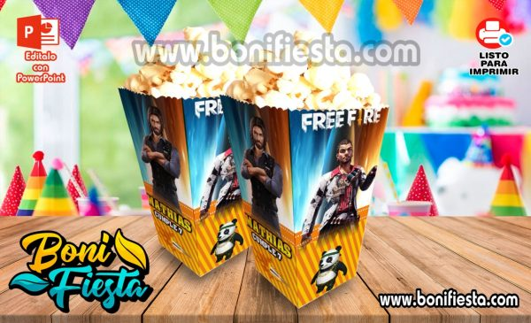 Cajita POPcorn Free Fire 600x365 1