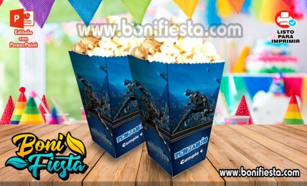 Cajita POPcorn Pantera